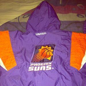 Phoenix Suns NBA 90s WarmUp Jacket